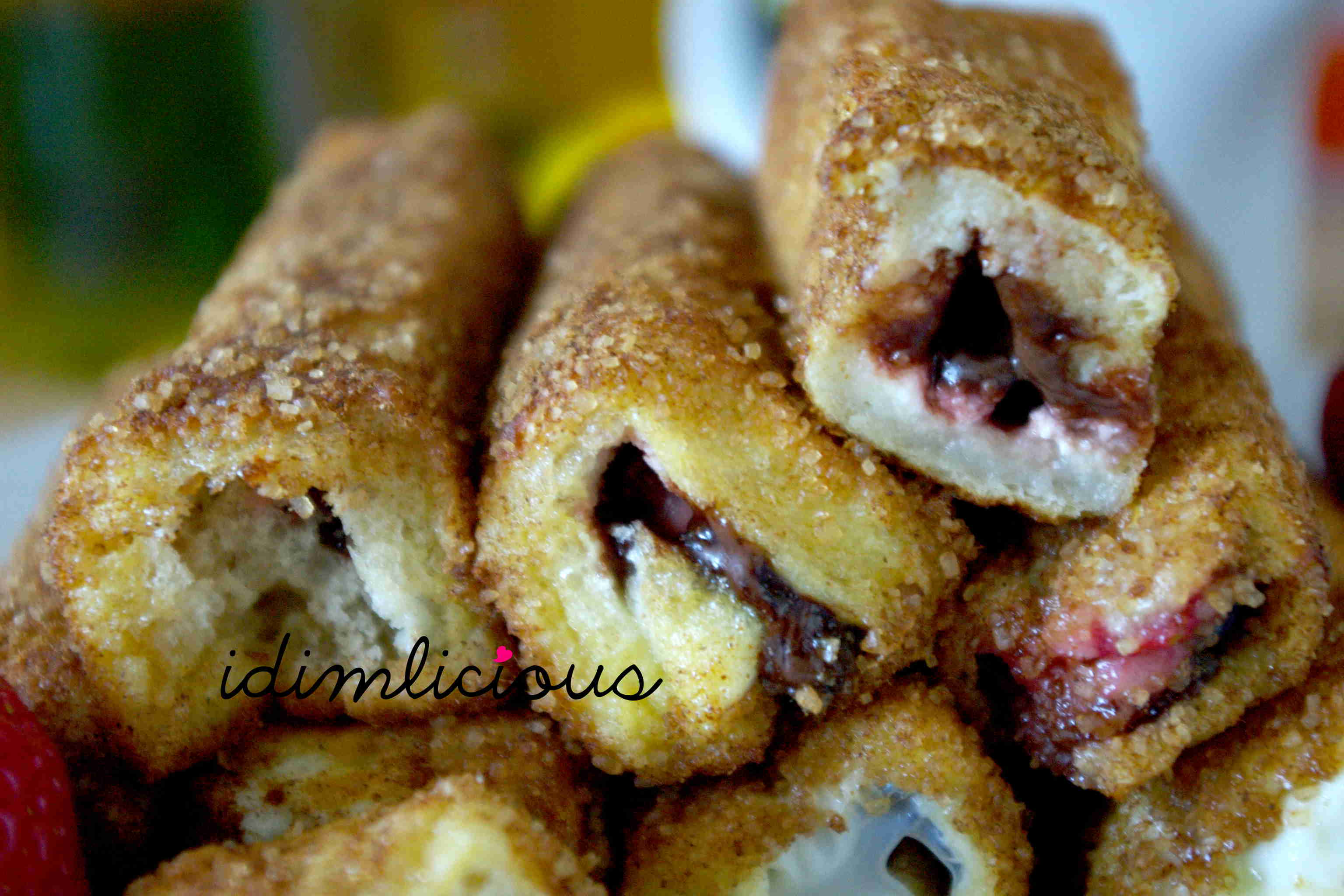 A walk on the strawberry field – Part 3 : Strawberry toast rolls