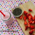 A walk on the strawberry field – Part 1: Strawberry-Chia-Shake