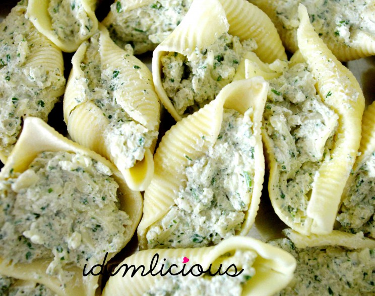 stuffed shells with filling