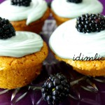 Awesome blackberry cupcakes