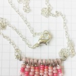 Mini Chevron Halskette – miniature chevron necklace