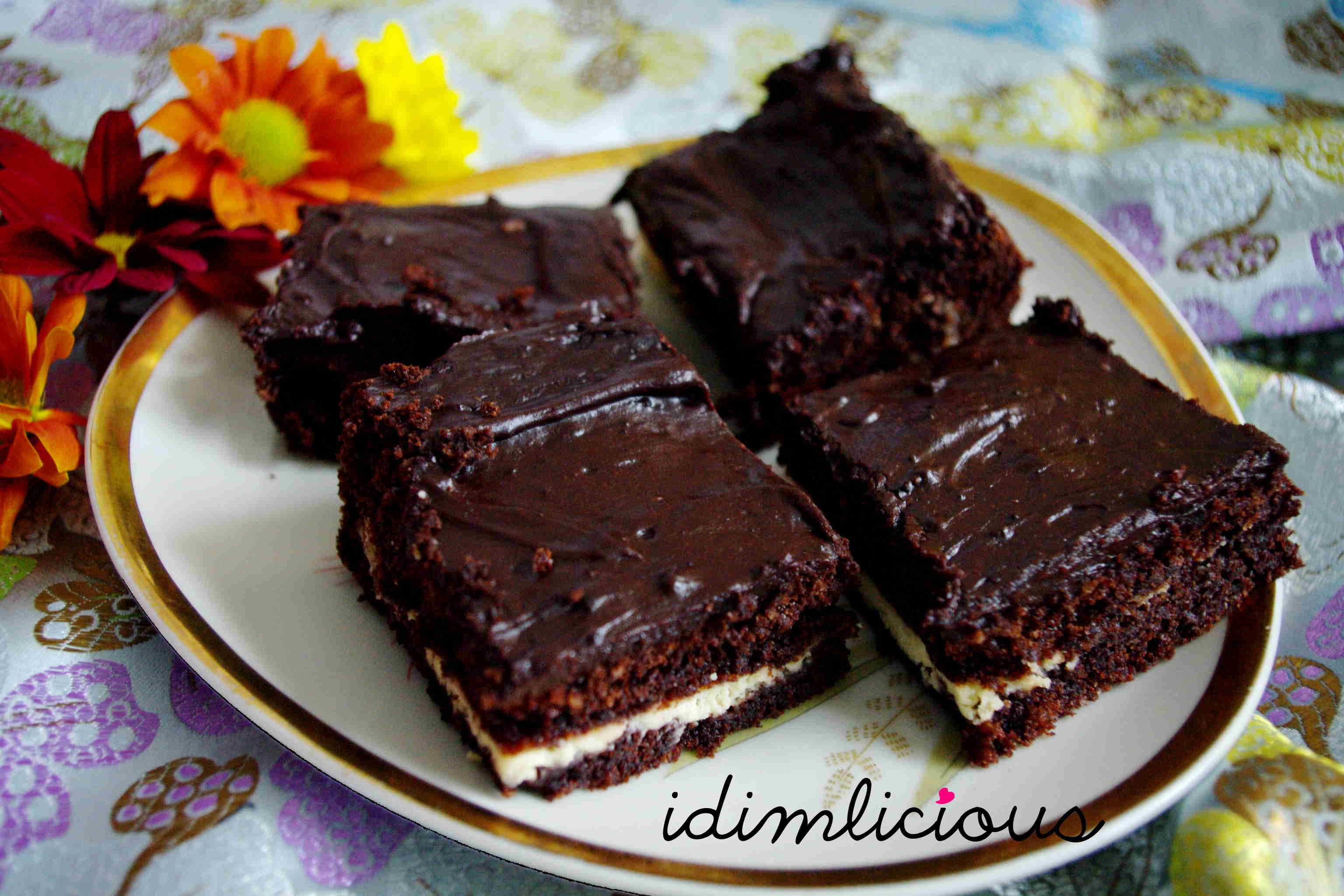 Cream Cheese Brownies to die for
