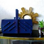 Einen Vintage-Nähkasten in dieses Jahrhundert bringen – how to bring a vintage sewing box in to this century