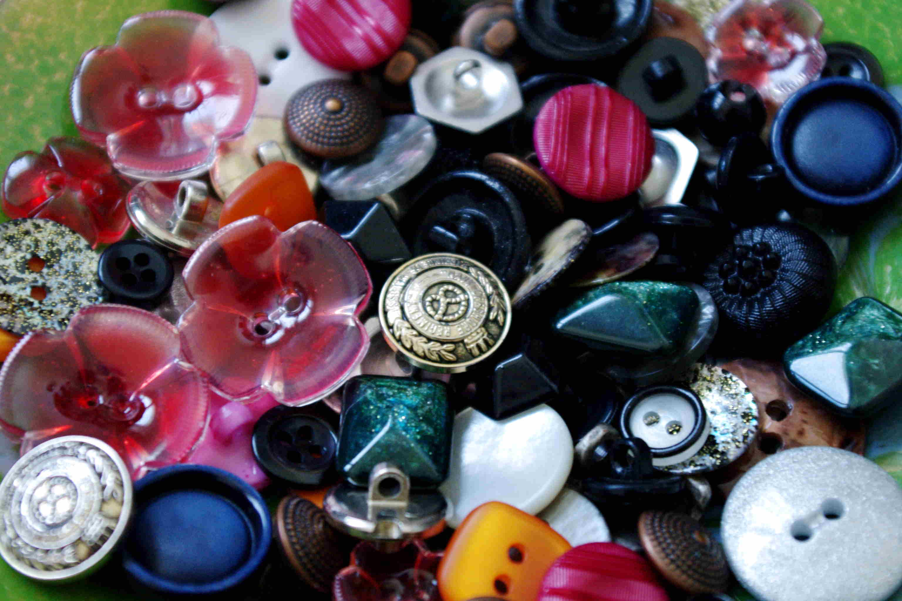 Knöpfe machen den Stil – buttons define the style