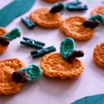 Kürbisgirlande und Herbstdeko – pumpkin garland and fall decoration