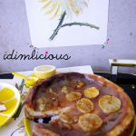 Lemoncurd Cheesecake mit karamellisierten Zitronen – lemoncurd cheesecake with caramelized lemons