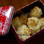 Adventsbacken Teil 3: Kokosmakronen – Advent baking part 3: coconut macaroons