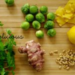 Pasta mit Topinambur und Rosenkohl – Pasta with Jerusalem artichoke and Brussels sprout