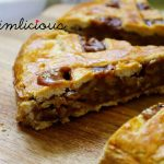 Walnuss Karamell Pie - walnut caramel pie