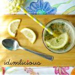 Sommerliche Minzlimonade - summery mint lemonade
