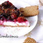 Winterkuchen mit Beeren und Spekulatius - winter cake with berries and Spekulatius