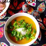 Indische rote Linsensuppe mit Kokos - Indian red lentils soup with coconut