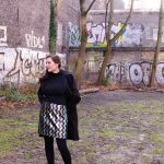 Paillettenrock selbstgenäht, was festliches zum Jahresende - sequin skirt selfmade, something festive for the end of the year