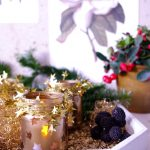 Goldene Teelichter aus alten Gläser – golden tealights made from old glasses